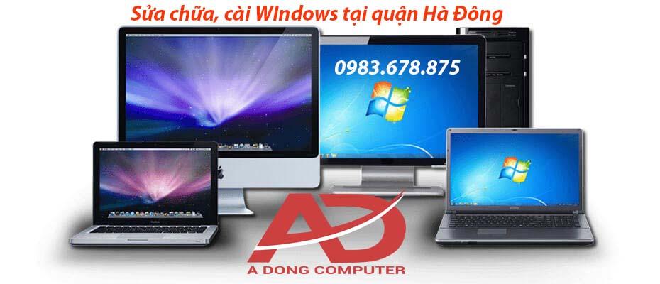 Cài Windows tại nhà Hà Đông - LH: 0983.678.875