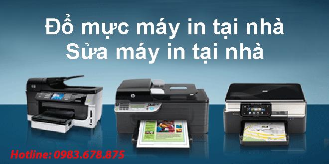Sửa máy in tại nhà Thanh Xuân - HN - 0983.678.875