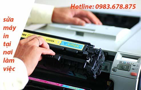 Đổ mực - Sửa máy in tại nhà Đê La Thành 100k=> lh:0983.678.875