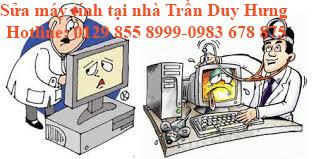 Sửa máy tính tại nhà Trần Duy Hưng Uy tin 100k 0983.678.875