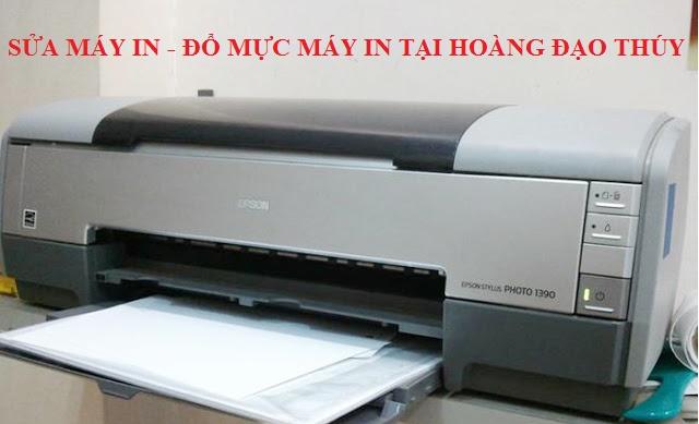 Sửa máy in tại nhà Hoàng Đạo Thúy, Hà Nội chất lượng 0983.678.875