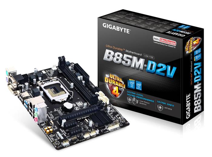 Mainboard GIGABYTE B85M-D2V