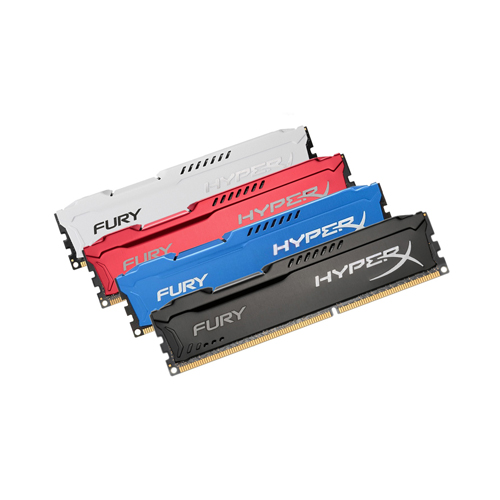 Ram PC Kingston HyperX 8GB DDR3 Buss 1600Mhz Fury Đen