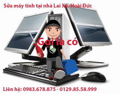 Sửa máy tính tại kcn Lai Xá, Kim Chung,  Hoài Đức LH 0983.678.875